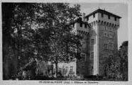 1 vue  - Château de Gourdans (ouvre la visionneuse)