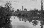 1 vue  - la Veyle depuis le pont (ouvre la visionneuse)