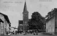 1 vue  - église et place (ouvre la visionneuse)