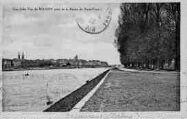 1 vue  - Une jolie Vue de Mâcon prise de la Route du Pont-Vert (ouvre la visionneuse)
