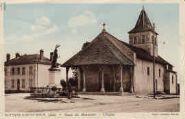 1 vue  - place du monument - l'église (ouvre la visionneuse)