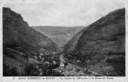 1 vue  - la vallée de l'Albarine et la route de Tenay (ouvre la visionneuse)