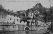 1 vue  - l'église et les ruines du château de Cornillon (ouvre la visionneuse)