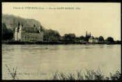 1 vue  - Château de Vertrieu - Vue de Saint Sorlin (ouvre la visionneuse)