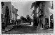 1 vue  - la route de Bourg (ouvre la visionneuse)