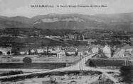 1 vue  - le pont du Rhône à l'intersection de l'Ain et de l'Isère (ouvre la visionneuse)
