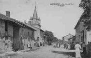 1 vue  - la Grande-Rue et l'église (ouvre la visionneuse)