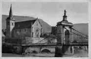 1 vue  - le pont et l'église (ouvre la visionneuse)