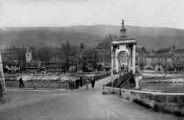 1 vue  - le pont et la montagne du Colombier (ouvre la visionneuse)