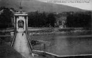 1 vue  - le pont - le Rhône - la Vierge (ouvre la visionneuse)