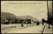 1 vue  - L'Avenue de la Gare - Le Pont et Seyssel (Haute-Savoie) (ouvre la visionneuse)