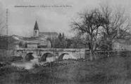 1 vue  - l'église et le pont sur le Suran (ouvre la visionneuse)