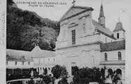 1 vue  - Chartreuse de Sélignac - façade de l'église (ouvre la visionneuse)