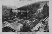 1 vue  - colonie de vacances à la Chartreuse de Sélignac - le val St-Martin vu de la terrasse du P. Prieur (ouvre la visionneuse)