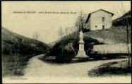 1 vue  - Chartreuse de Sélignat - Statue de Saint-Martin, patron de Sélignat (ouvre la visionneuse)