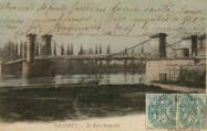 1 vue  - le pont suspendu (ouvre la visionneuse)