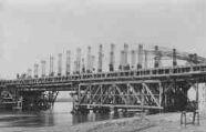 1 vue  - pont en construction 1924 (ouvre la visionneuse)