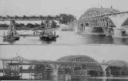 1 vue  - pont en construction en 1924 (ouvre la visionneuse)