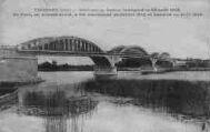 1 vue  - pont sur la Saône, inauguré le 23/08/1925, ce pont en ciment armé a eté commenc en juillet 1922 et terminé en Août 1925 (ouvre la visionneuse)