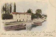 1 vue  - port de Thoissey (ouvre la visionneuse)