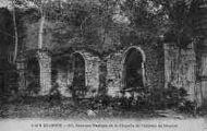 1 vue  - derniers vestiges de la chapelle de l'abbaye de Meyriat (ouvre la visionneuse)