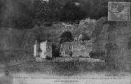 1 vue  - Ruines de Château de Bouvens, dominant la Cité (Villebois et Bouis), démantelé en Mai 1600 par le Maréchal de Biron (ouvre la visionneuse)