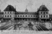 1 vue  - asile saint-Georges - une aile du pavillon (ouvre la visionneuse)