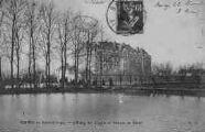 1 vue  - Saint-Georges - l'étang des Cygnes et maison de santé (ouvre la visionneuse)