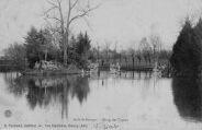 1 vue  - asile saint-Georges - étang des cygnes (ouvre la visionneuse)
