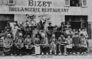 1 vue  - Banquet Bressan Bizet, boulangerie-restaurant, 17 novembre 1906 (ouvre la visionneuse)