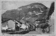 1 vue  - Rue du Cotter et Montagne de Soremont (ouvre la visionneuse)