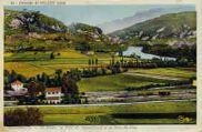 1 vue  - le Rhône, le fort de Pierre-Châtel et la Dent du chat (ouvre la visionneuse)