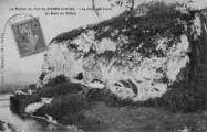 1 vue  - le rocher du fort de Pierre-Châtel - les châteaux-forts au bord du Rhône (ouvre la visionneuse)