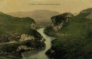 1 vue  - la vallée du Rhône et le fort de Pierre-Chatel (ouvre la visionneuse)