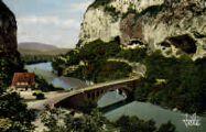 1 vue  - pont de la Balme près du tunnel de la Dent du Chat (ouvre la visionneuse)