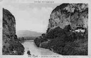 1 vue  - Le Rhône à La Balme (ouvre la visionneuse)