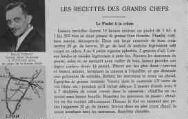1 vue  - Les recettes des grands chefs - Le Poulet à la crème - Benoît Perrat, Grand Hôtel Moderne à Vonnas (Ain) au pays de la bonne chère (ouvre la visionneuse)