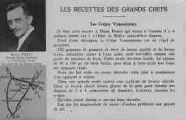 1 vue  - Les recettes des grands chefs - Les Crêpes Vonassiennes - Benoît Perrat, Grand Hôtel Moderne à Vonnas (Ain) au pays de la bonne chère (ouvre la visionneuse)
