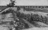 1 vue  - L'Armée Française - Infanterie - Dans les Tranchées (ouvre la visionneuse)