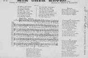 1 vue  - Mon cher neveu, paroles de Fernoël, musique de Meusy&Marietti (ouvre la visionneuse)