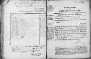 1 vue Ceyzérieu 1834 - 1835