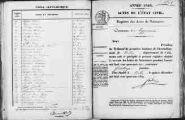 1 vue Ceyzérieu 1845 - 1846