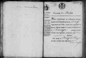 1 vue Pouillat 1822 - 1823