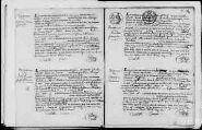 17 vues Pouillat 1823 - 1823