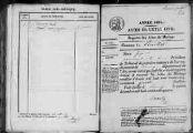 1 vue Pouillat 1834 - 1835