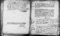 2 vues Vandeins 1762 - 1763