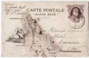 2 vues  - Correspondance du Caporal Denis Couette (140e régiment d'infanterie, 38e compagnie) (ouvre la visionneuse)
