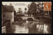 1 vue Légende inscrite sur la carte postale : Pont du Moulin d Andert5 Fi 9-6
