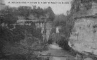 1 vue  - Gorges du Rhône et passerelle d'ARLOD (ouvre la visionneuse)