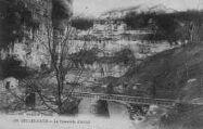 1 vue  - Bellegarde -la passerelle d'ARLOD (ouvre la visionneuse)